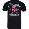 The Goonies Men's Skull T-Shirt - Black: Image 1