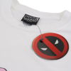 Marvel Men's Deadpool Character T-Shirt - White: Image 3