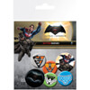 DC Comics Batman v Superman Dawn of Justice Mix Badge Pack: Image 1