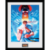 Street Fighter Ryu and Bison - 16 x 12 Inches Framed Photographic: Image 1