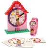 LEGO Time Teacher Pink Mini Figure Link Watch And Buildable Clock: Image 1