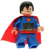 LEGO DC Comics Super Heroes Superman Mini Figure Clock: Image 2