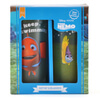 Disney Finding Nemo Just Keep Swimming Set of 2 Glasses: Image 2