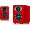 Steljes Audio NS1 Bluetooth Duo Speakers - Vermilion Red: Image 1