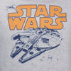 Star Wars Men's Retro Falcon Hoody - Grey: Image 3