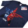 Marvel Men's Captain America Civil War Broken Star T-Shirt - Navy: Image 2