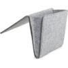 Bedside Pocket Felt Caddy - Grey: Image 2
