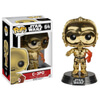 Star Wars: The Force Awakens C-3PO Gold Chrome Pop! Vinyl Figure: Image 1