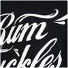 Rum Knuckles Signature Logo T-Shirt - Black: Image 3