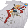 DC Bombshells Men's Supergirl T-Shirt - Grey: Image 3