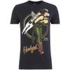DC Comics Bombshells Men's Hawkgirl T-Shirt - Black: Image 1