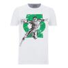 DC Comics Men's Green Lantern Punch T-Shirt - White: Image 1