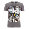 DC Comics Men's Batman Face T-Shirt - Grey: Image 1