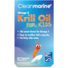 Cleanmarine Krill Oil for Kids - 60 Gel Capsules (200mg): Image 1