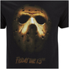 Friday the 13th Men's Mask T-Shirt - Black: Image 5