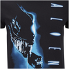 Aliens Men's Vertical T-Shirt - Black: Image 5