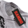 Rambo Men's Face T-Shirt - Grey Marl: Image 2