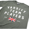 Varsity Team Players Men's Union T-Shirt - Military Green: Image 3