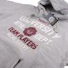 Varsity Team Players Men's University Athletic Hoody - Grey: Image 2