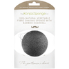 The Konjac Sponge Company Gentlemen's Shaving Sponge with Bamboo Charcoal: Image 1