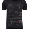 Star Wars Men's Fleet Schematic T-Shirt - Black: Image 4