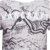 Warcraft Men's Map T-Shirt - White: Image 3