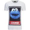 Cookie Monster Men's Street Cookie Monster T-Shirt - White: Image 1