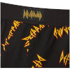 Def Leppard Men's Lounge Pants - Black: Image 3