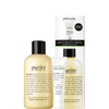 Philosophy Purity 3-in-1 Cleanser 240ml + Take A Deep Breath Oxygenating Gel Cream 15ml: Image 1