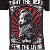 The Walking Dead Men's Fight the Dead T-Shirt - Black: Image 3