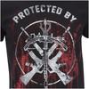 The Walking Dead Men's Grimes & Dixon T-Shirt - Black: Image 3