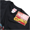 Marvel Men's Comic Strip Logo T-Shirt - Black: Image 2