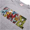 Marvel Men's Comic Strip Logo T-Shirt - Sports Grey: Image 3