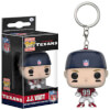 NFL J.J. Watt Pocket Pop! Vinyl Key Chain: Image 1