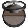 INIKA Pressed Mineral Eyeshadow Duo - Choc Coffee: Image 3
