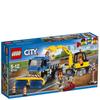 LEGO City: Sweeper & Excavator (60152): Image 1