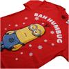 Despicable Me Men's Bah Humbug T-Shirt - Red: Image 4
