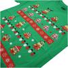 Despicable Me Men's Christmas Pattern T-Shirt - Irish Green: Image 4