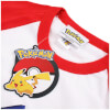 Pokemon Men's Logo Contrast T-Shirt - White/Red: Image 3