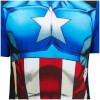 Marvel Men's Captain America Pyjama Set - Blue: Image 3