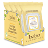 Babo 3-in-1 Sensitive Baby Face, Hand, Body Wipes - Oatmilk & Calendula (4 Pack): Image 1