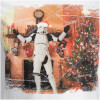 Stormtrooper Men's Christmas Tree T-Shirt - White: Image 3