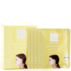 Dermovia LACE YOUR FACE Compression Facial Treatment Mask - Brightening Bearberry (4 Pack): Image 1