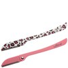 Lilibeth of New York Brow Shaper - Leopard Pink/Plain Pink (Set of 2): Image 1