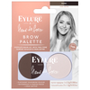 Eylure x Fleur de Force Brow Palette - Dark: Image 1