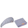 Aquis Lisse Luxe Hair Turban and Hair Towel - Cloudy Berry Bundle (Worth £65): Image 1