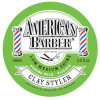 American Barber Low To Medium Shine Strong Hold Clay Styler 100ml: Image 1