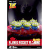 Beast Kingdom Disney Toy Story Egg Attack Alien's Floating Rocket Model with Light up Function 18cm: Image 3