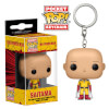 One Punch Man Saitama Pocket Pop! Key Chain: Image 1