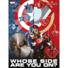 Captain America Civil War Glass Poster - Whose Side Are You On (30 x 40cm): Image 1